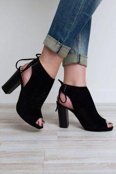 Party People Heels - Black