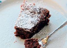 Chokoladekage gør sig strålende til eftermiddagskaffen