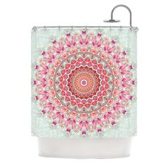Found it at Wayfair - Summer Lace III Shower Curtain