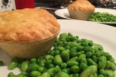 Empty the Freezer Challenge Week 2 veggie pie peas and beans