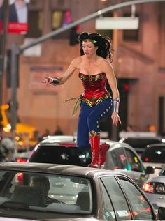Adrianne Palicki's new Wonder Woman Costume