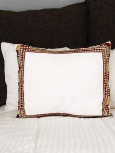 Woven Mexican Pillow Cover | Handmade