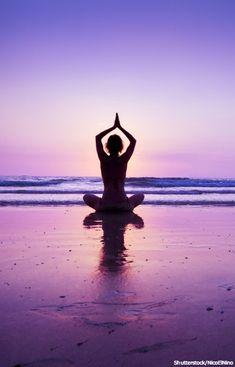 De-stress through meditation.