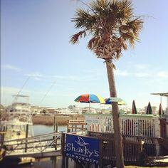 Sharky's, Ocean Isle Beach, North Carolina Love the view from the porch! Ocean Isle Beach North Carolina, Sunset Beach Nc, Ocean Isle Beach Nc, South Carolina, Beach Trip, Beach Vacations, Beach Bum, Under The Ocean, Oak Island