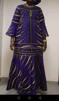 Long African Dresses, African Lace Styles, Beautiful Ankara Styles, African Print Dresses, African Fashion Dresses, Fashion Outfits, African Attire, African Wear, Ankara Maxi Dress