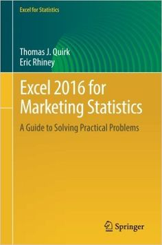Unix operating system pdf download e book it ebooks pinterest excel 2016 for marketing statistics pdf download e book fandeluxe Images