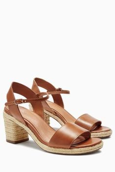 a198b1058408 Buy Forever Comfort Leather Espadrille Sandals online today at Next  South  Africa