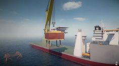 Video: Animation F3000 Crane vessel Decommissioning