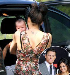 Everly Tatum, daughter of Channing Tatum and Jenna Dewan-Tatum up close!