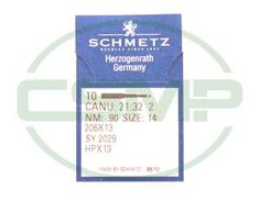 Click to view full size image of 206X13 SIZE 90 PACK OF 10 NEEDLES SCHMETZ