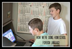How We're Doing Homeschool Foreign Language
