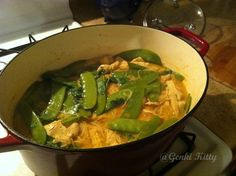 Red Curry Noodle Soup vegan recipe #vegan #curry #recipe