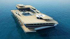 Selahattin Üldaş'tan 130M Katamaran || #selahattinüldaş #üldaşdesign #süperyat #superyacht #yat #yacht #concept #konsept #megayat #megayacht #katamaran #catamaran #yachtworld #yachtlife #yachting #luxury #luxuryyachts #luxuryyacht #luxurylife #wealthylife #boatlife #sealife #yachtclub #deniz #sea #amazing #expensive #sailor #fashion #boat #tekne #style #design #yatvitrini .. http://www.yatvitrini.com/selahattin-uldastan-130m-katamaran?pageID=128