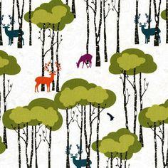 Open Season in Multi Rustique by Emily Herrick for by FabricBubb, $10.00