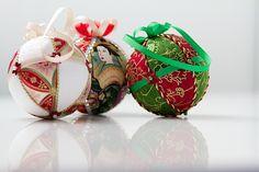 Kimekomi Balls   kimekomi ornaments