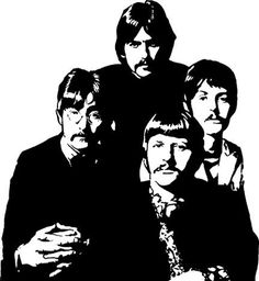 Beatles for ever The Beatles 1, Beatles Art, White Art, Black And White, Comic Book Layout, Shadow Photos, Paper Bead Jewelry, Music Artwork, Stencil Art