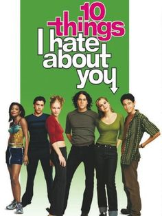 Watch 10 Things I Hate About You Netflix 10 Things I Hate About You by Heath Ledger, Julia Stiles, Joseph Gordon-Levitt, Larisa Oleynik (Pr. Teen Movies, Good Movies, Amazing Movies, 1990s Kids Movies, Childhood Movies, Movies Free, Comic Movies, Movies 2019, Horror Movies