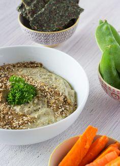 Hazelnut Dukkah Mung Bean Hummus
