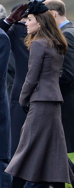 The Duchess debuted a new suit from the Michael Kors Collection.