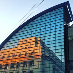 The old reflected in the new. #bucharest #romania #architecture