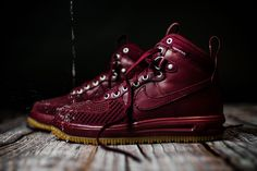 "Nike ""Team Red"" Lunar Force 1 Duckboot - EU Kicks: Sneaker Magazine"