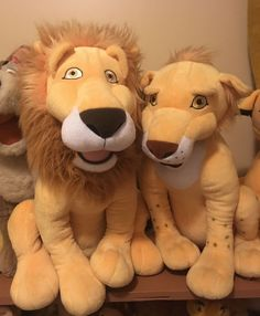 "RARE Beautiful 18"" Disney The Wild- Samson & Ryan Plush Collectibles"
