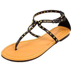 Toast! Women's Studded Gladiator Sandals