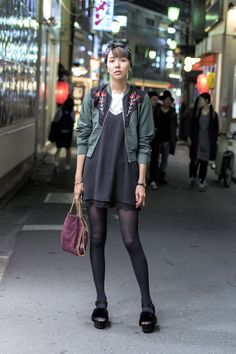 hang out in Tokyo [Tokyo Street Fashion Style]