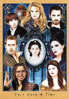 Amazing poster by @ZiaFranny All of her #OnceUponATime prints are available to purchase at http://www.ziafranny.com