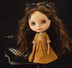 Mooji Dress  Yellow Ocher