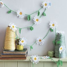How To Crochet A Daisy Chain Decoration prima.co.uk More