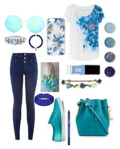 """""""I'm Blue"""" by zmills151 on Polyvore featuring Sophie Hulme, New Look, Karen Millen, Vans, Aéropostale, Sonix, Terre Mère, Victoria Beckham, Cathy Waterman and JINsoon"""