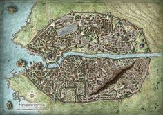 Neverwinter City Map | Flickr - Photo Sharing!