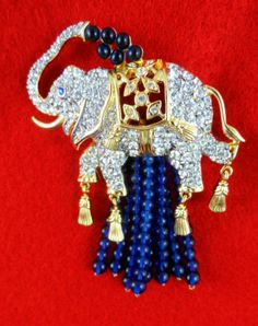 "Elizabeth Taylor Collection for Avon ""Elephant Walk Pin"" NIB 3 1 2""Long RARE   eBay"