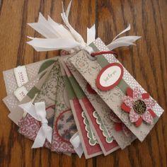Christmas tags to make!!!!