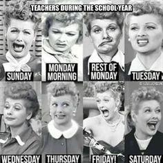 Lucy gets it! #teacherproblems #backtoschool