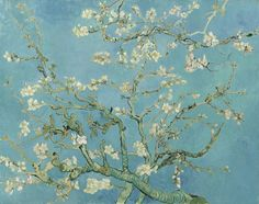 Amandelbloesem Saint-Rémy-de-Provence, februari 1890 Vincent van Gogh (1853 - 1890) olieverf op doek, 73.3 cm x 92.4 cm Van Gogh Museum, Amsterdam (Vincent van Gogh Stichting)