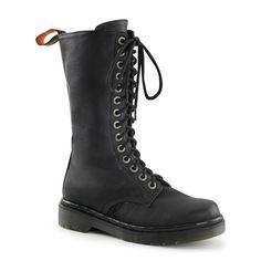 RAGE-300 Womens 14-eye Combat Boots
