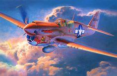 Curtiss P-40N 'Geronimo' by Shigeo Koike