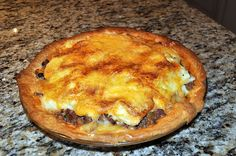 Fannie's Beef & Cheese Pie (Shepard's Pie)