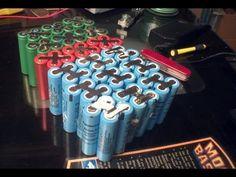 ▶ DIY: 48v 24ah lithium ion 18650 e-bike battery pack - YouTube