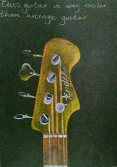 Fender precision bass Woodstock drawing