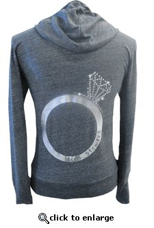 Custom Bling Ring Eco Zip Hoodie...I'm getting me one of these ;)