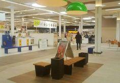 Mobiliario de Kirkus Innova en un centro comercial de San Fernando de Henares (Madrid) #furniture #seating