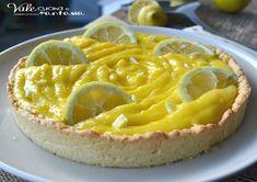 Crostata con crema al limoncello