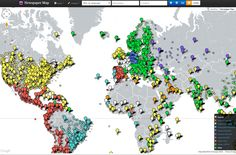 """NEWSPAPER MAP - Index of newspapers in 39 countries, plotted on a map and cross linked with Google Translate.  """"The immediate usefulness of Newspaper Map is readily apparent.""""  Jared Keller, The Atlantic """"News of the World, One Click Away""""  Sam Grobart, New York Times """"I think this mash-up of Google Maps & every online Newspaper in the World is very, very cool""""  Bill Gross, Founder of Idealab & UberMedia"""