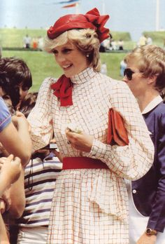 Diana, Princess of Wales in Canada, 1983.