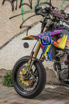 #Supermoto Husqvarna SMR 450