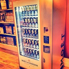 America Suffers From A Disturbing Lack Of Champagne Vending Machines