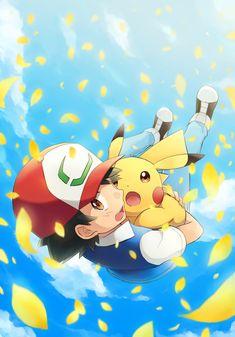 Ash and Pikachu Pokemon movie art is not mine Pokemon Show, Pokemon Manga, Pokemon Alola, Pokemon Eeveelutions, Pokemon Memes, Pokemon Cards, Pokemon Fusion, Charizard, Cool Pokemon Wallpapers